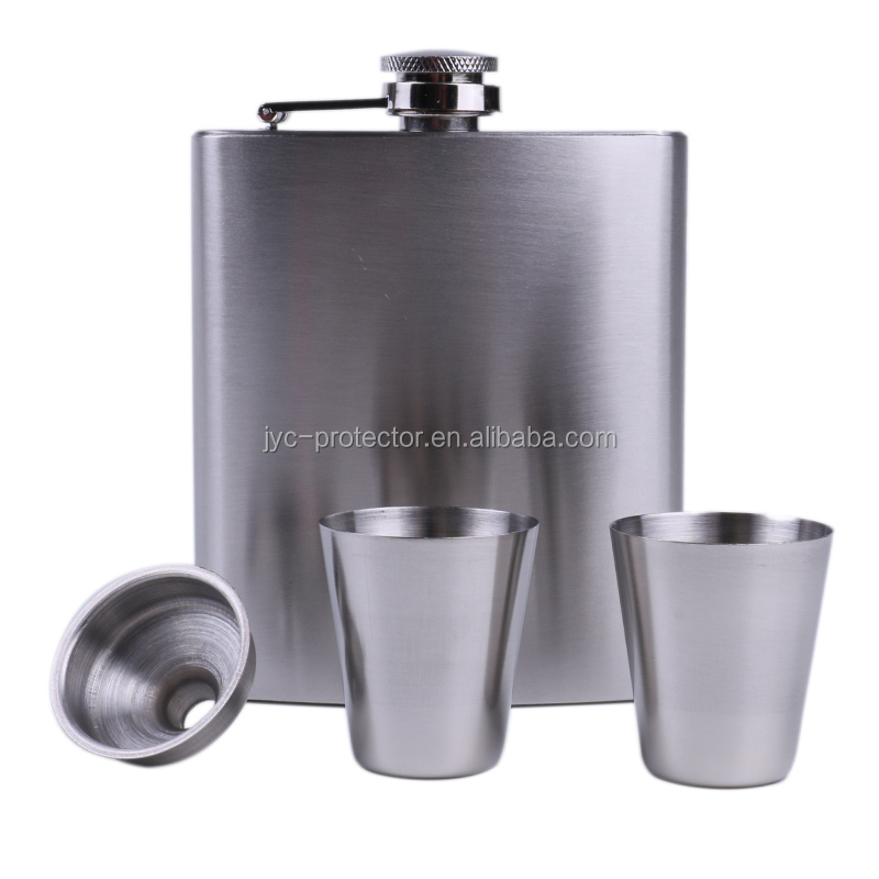 Hot selling Stainless Steel Hip Flask flagon set