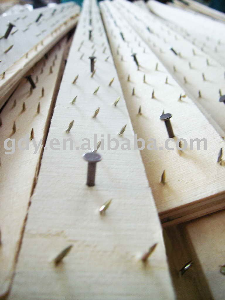 Plywood Carpet Gripper Smooth Edge / Carpet Tack Strip From China ...