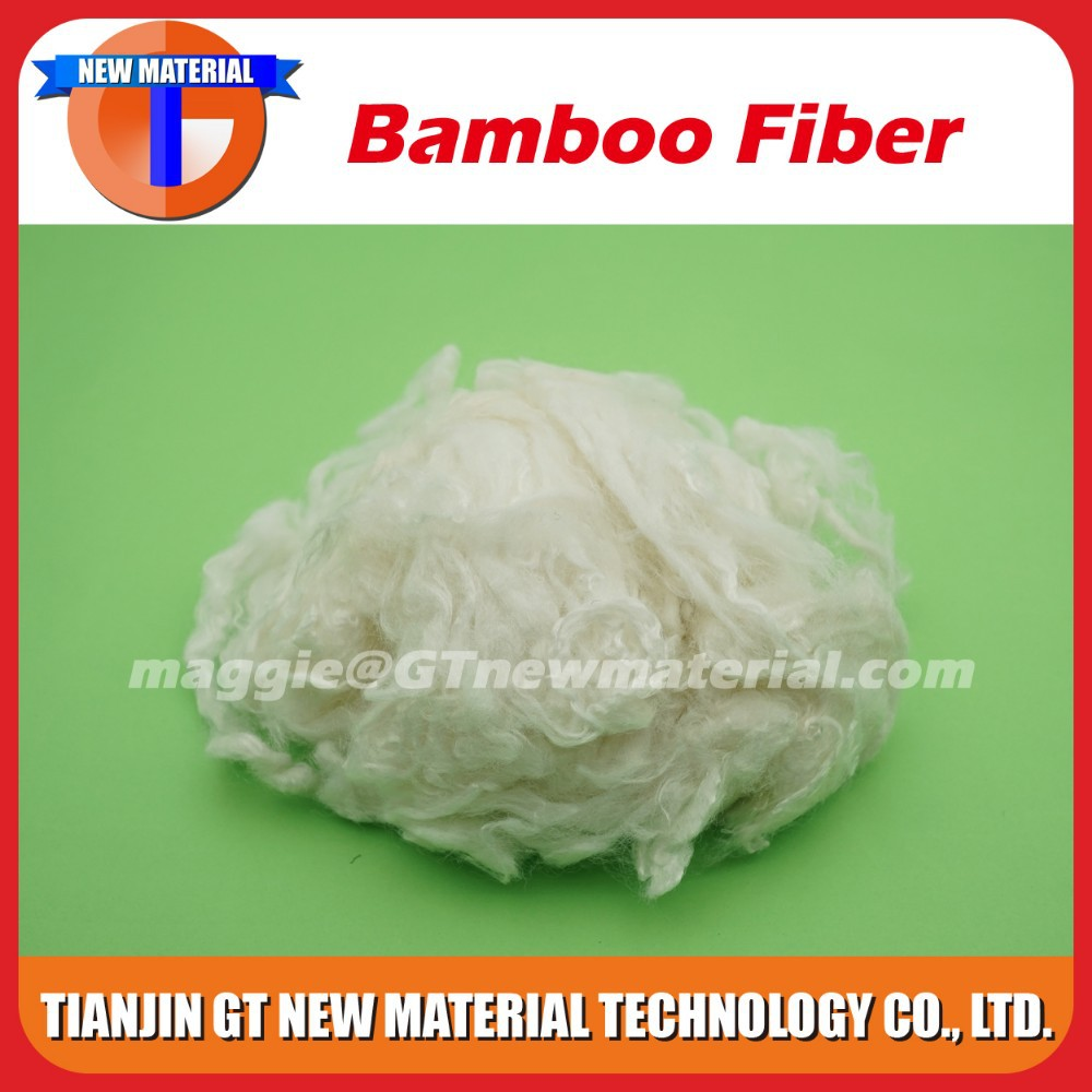 high quality lower bamboo fiber price, 5D bamboo fiber