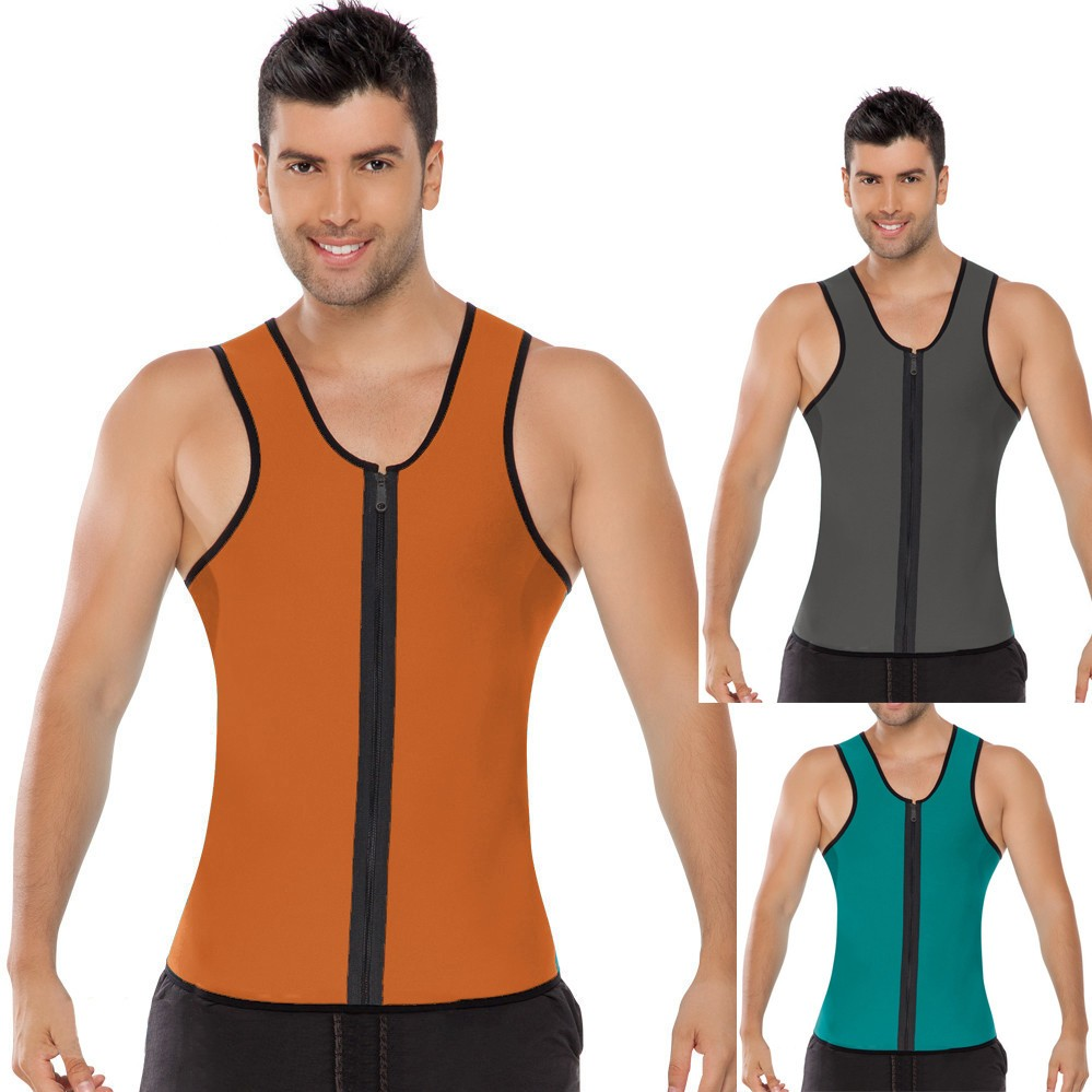 Top Selling Ultra Sweat Shirt Neoprene Body Shaper Slimming Vest For Men