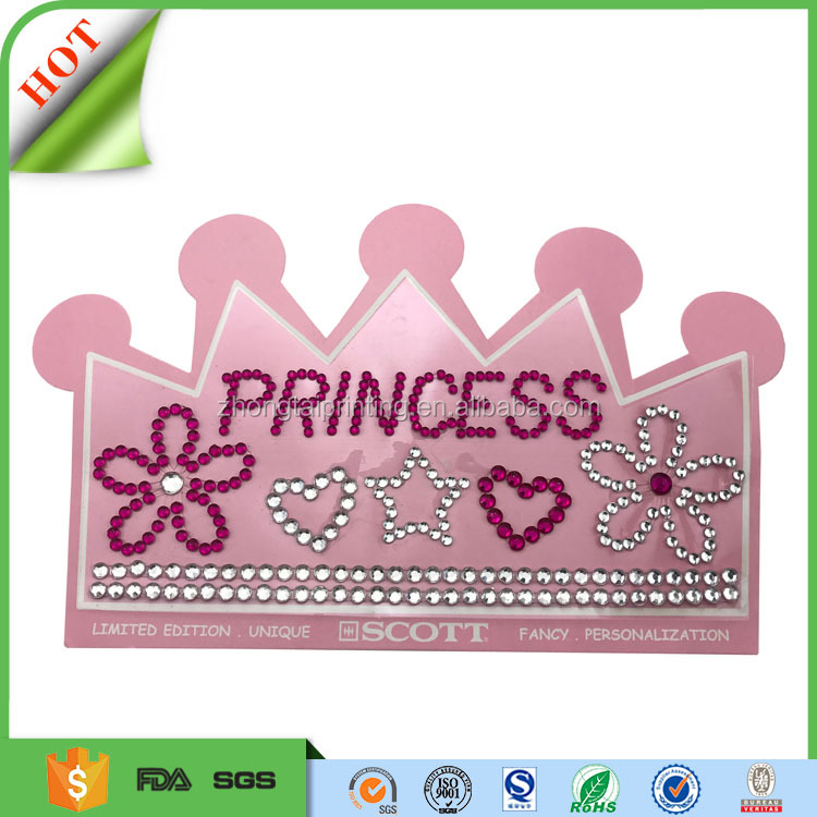 Attractive gems mobile phone crystal sticker,kids 3d dome diamond acrylic sticker,rhinestone sticker for phone, ipad
