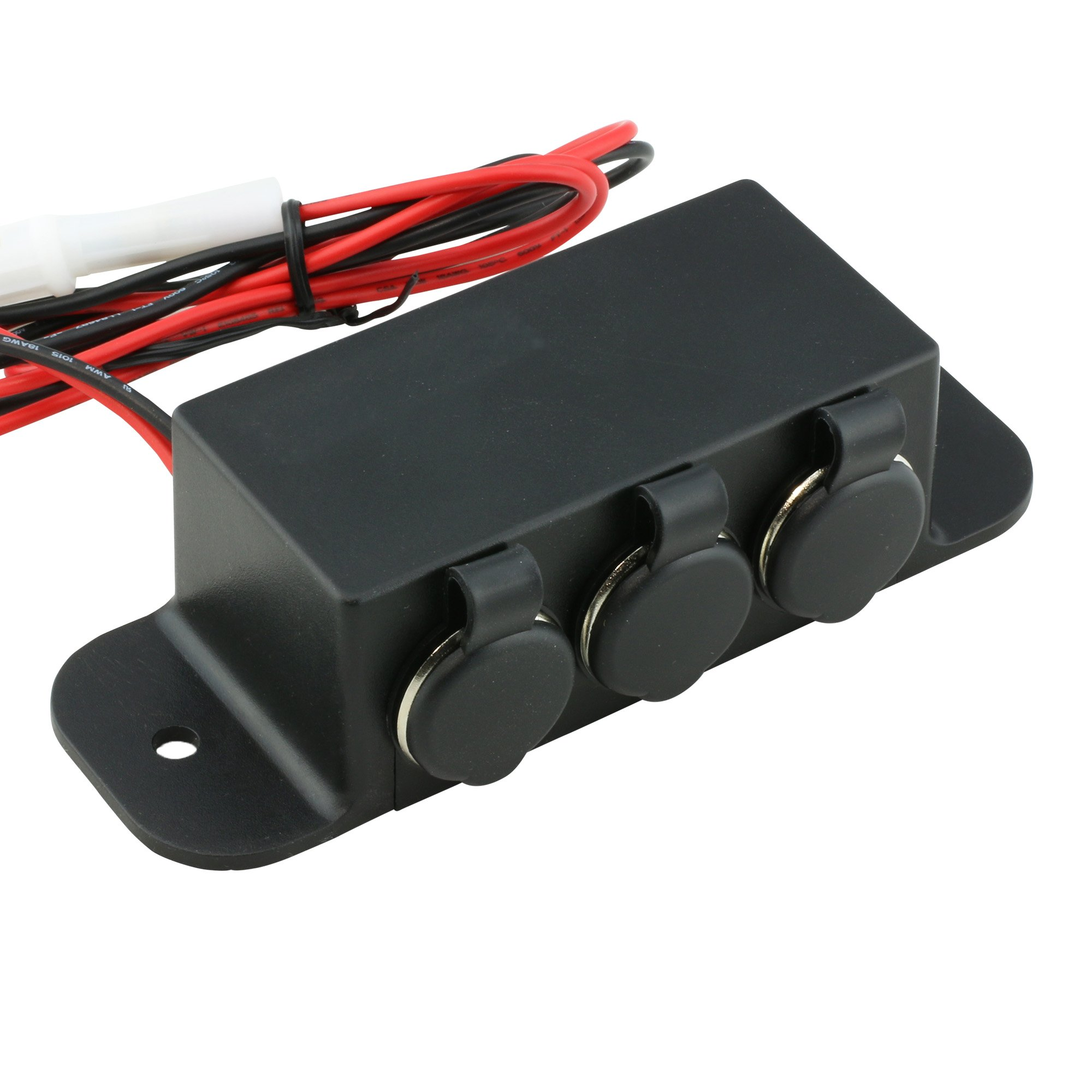 Get Quotations · Automotive DC Power Outlet Extension [Heavy Duty]  [12V-24V] [15