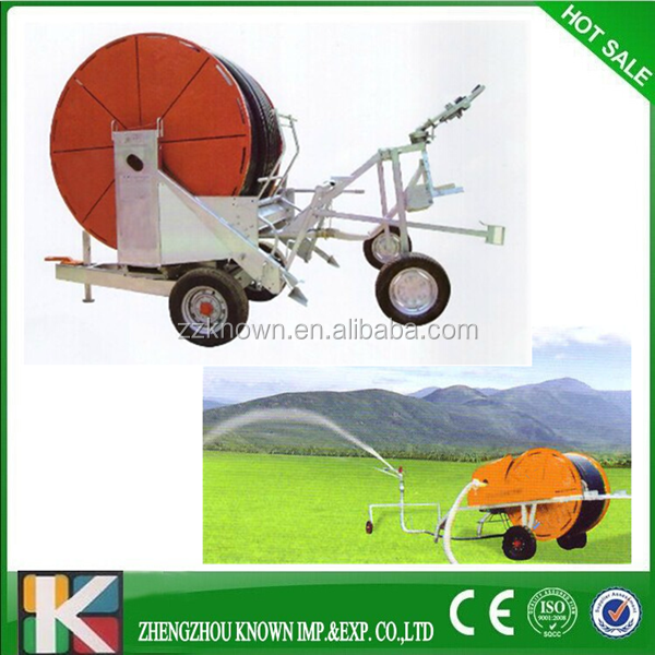 automatic Portable Farm Mobile Sprinkler Irrigation System for Sale