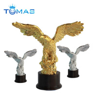 Custom eagle resin and pewter trophies