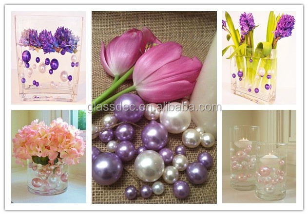 wholesale loose abs Pearl Beads for wedding table scatter