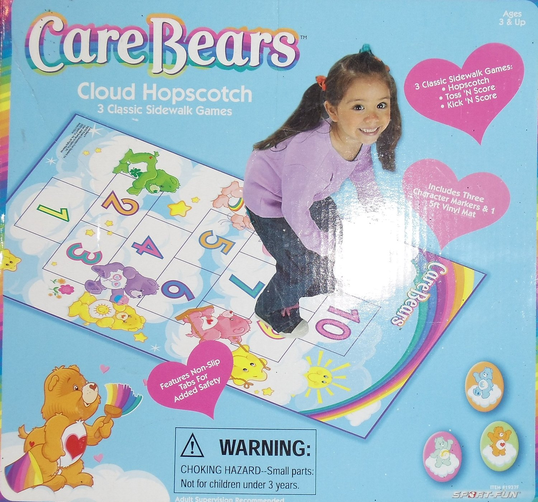 Care Bears Cloud Hopscotch: 3 Classic Sidewalk Games