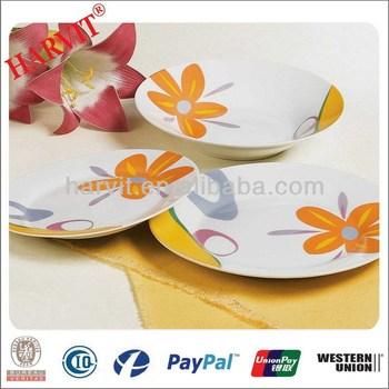 Italian Fine Porcelain Normal White Tableware Dinnerware Sets/Luxury Sunflower Pattern Printing Dinner Set China  sc 1 st  Alibaba & Italian Fine Porcelain Normal White Tableware Dinnerware Sets/luxury ...