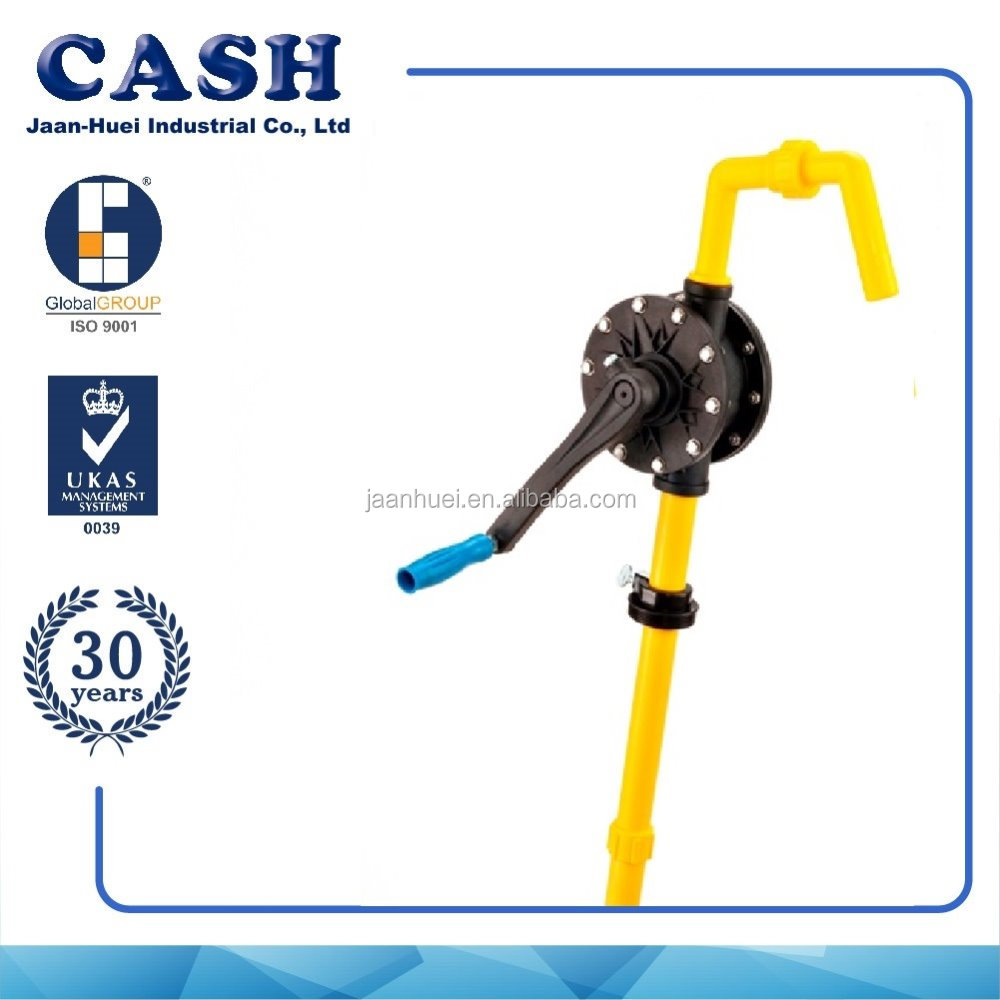 Barrel Gasoline fuel transfer Rotary Hand Pump