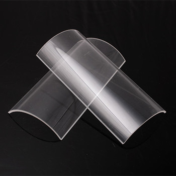 Quartz Sheet Glass Plate Fused Silica thin Circular Glass plate wholesale price
