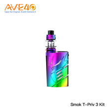 2018 New Products 300W Powerful Vape Mod Kit Original Smok T-Priv 3 Kit