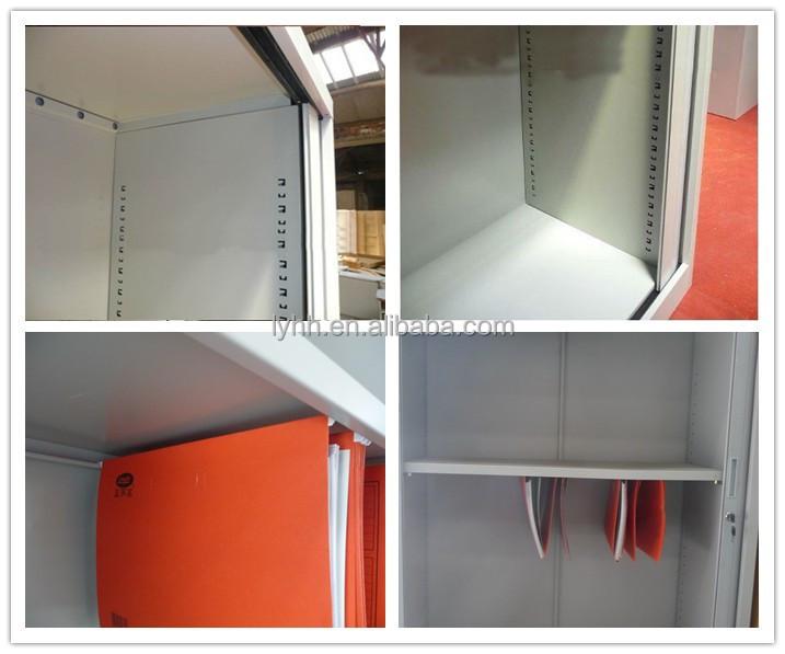 Office Furniture Steel Roller Shutter Door Cabinets Metal Tambour Cupboard