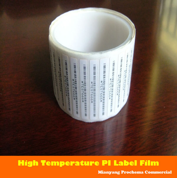good price for PI label stickers high temperature label