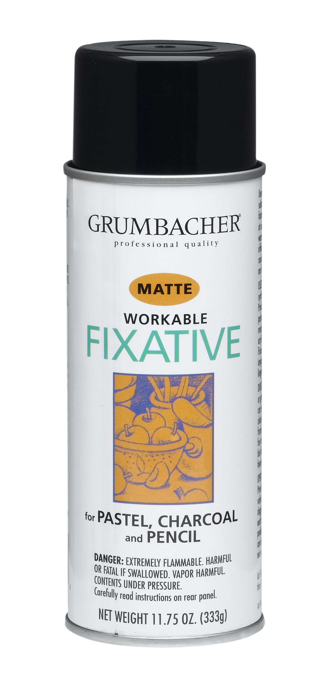 Grumbacher 546 11-3/4-Ounce Workable Fixative Spray, 11-3/4-Ounce Can