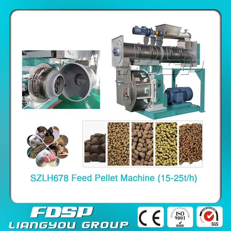 Hot Sale 3-5t/h Ring Die Pellet Press Machine Goat Farm Feed Pellet Making Equipment