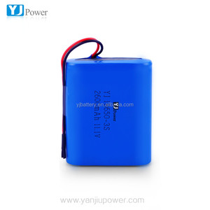 Factory Manufacturing 12V 3300mah lithium ion battery rechargeable battery with protection circuit