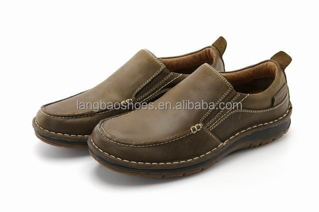 handcrafted men real leather casual shoes 2015 popular