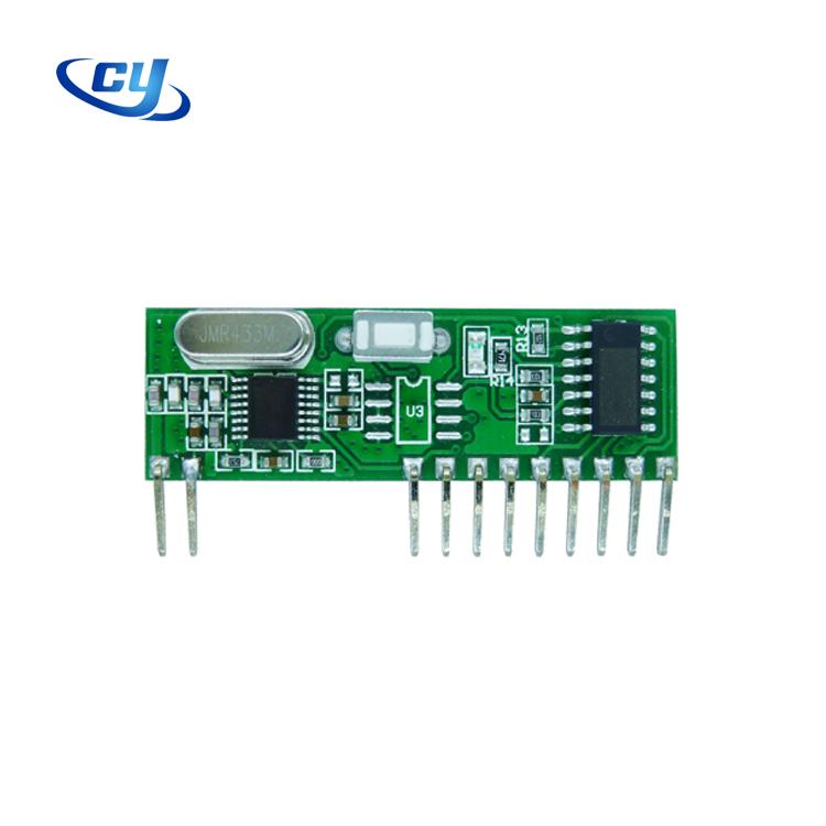 Elektronische Tore 4-Kanal 433 MHz-RF Wireless Fernsteuerung Learning-Code 1527