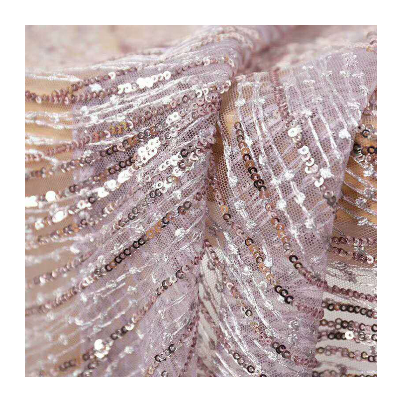 163a99fe618a Flash sirena di paillettes maglia del panno tessile materiale per le donne  sparkly abito da sera