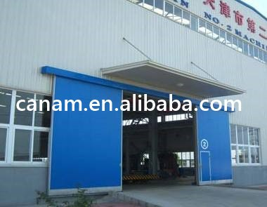 bi-parting sliding door for Industrial