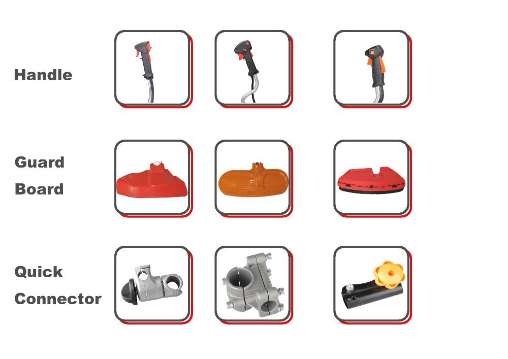 Qualcast Parts manual Brush Cutter spare parts