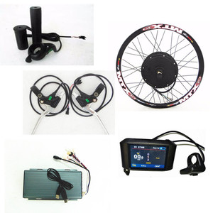 72v High Power Ebike conversion Kits 5000W bicycle electric engine kit with Promotion Price