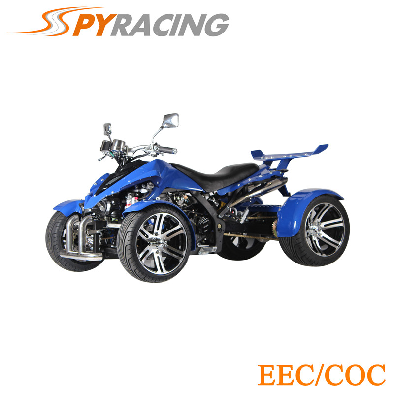 SPY RACING ATV ON ROAD LEGAL FOR WHOLESALE Green Kawa Design 350cc Four Wheel Bicycle