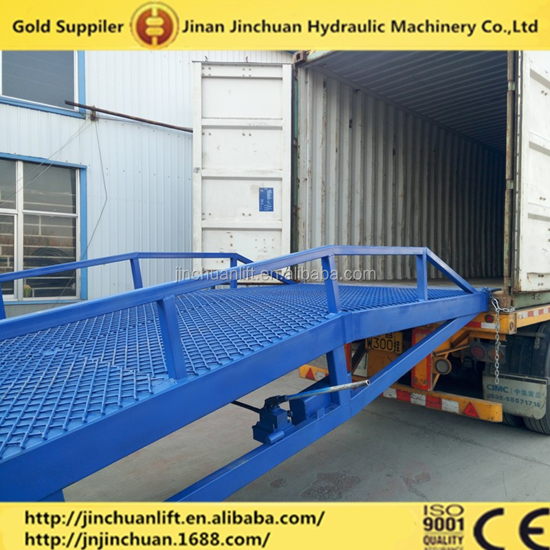 hot sell hydraulic mobile truck tailgate lift,mobile yard ramp