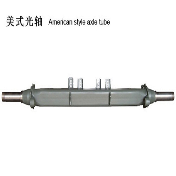 trailer square axle shaft casting steel axle tubes