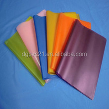 Wholesale China cheap plastic pvc plastic book cover