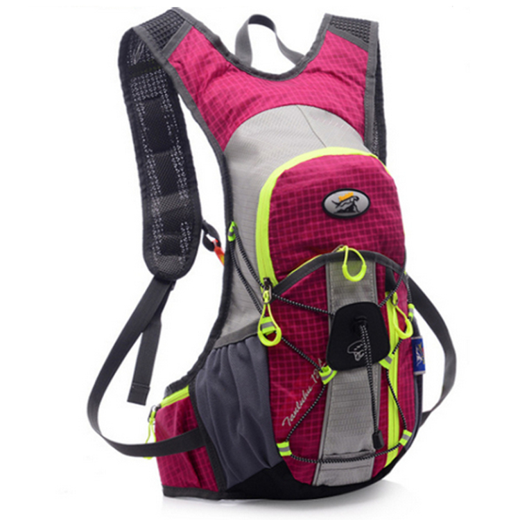 Free shipping   outdoor riding Outdoor sports tourism and leisure travel shoulder bag backpack pink
