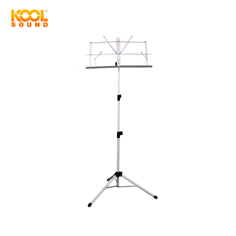 BS-1W - Professional Book Stand / Foldable Music Stand / Music Sheet Stand with Carry Bag packed in color box