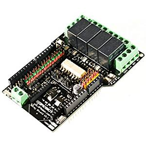 Angelelec DIY Open Sources Arduino, Relay Shield (Arduino Compatible), Extends The Full Resources of Arduino Controller, and can Dock With Other Household Appliances, USER-Friendly External Sensors