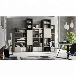 Office furniture cabinet wooden display bookcase