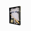 High Quality Acrylic Shadow Box Frame for Football Jersey Solid Wood Custom Photo Frame UV Protection