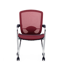 Modern Folding Gaming Chair Mesh Ergonomic Staff Training Office Chair