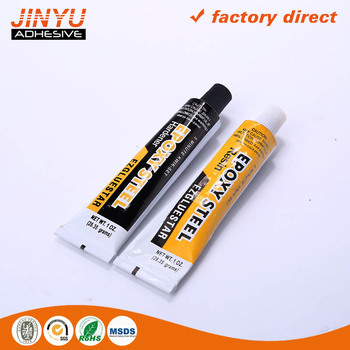 Jinyu Wholesale Msds Certification Quick And Strong Adhesive Aluminum Tube  Epoxy Resin Ab Glue - Buy Epoxy Resin Ab Glue,Epoxy Resin Ab Glue,Epoxy