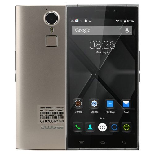 IN STOCK DOOGEE HOT SALE Original DOOGEE F5 5.5 inch Android Phone RAM3GB ROM16GB (Gold)