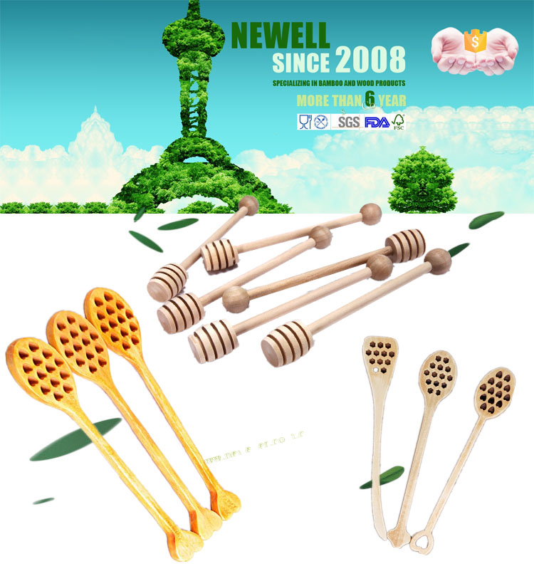 wood muddler discount wooden honey stirrers factory direct sale