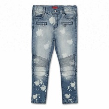 Royal wolf denim jeans fabrikant 8000 stks clear out broek kind <span class=keywords><strong>voorraad</strong></span> biker jeans