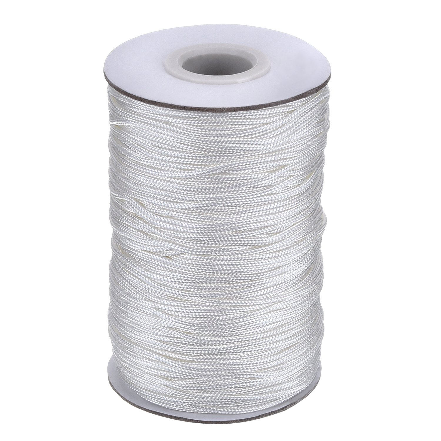 100 Yards - Ivory Repair DIY Projects Roman Shade Cord /& Wind Chime Cord Mini Blind Cord Durable Polyester Lift Cord Micro Cord//Nano Cord for Crafting - SGT KNOTS Home Decor 1.4 mm