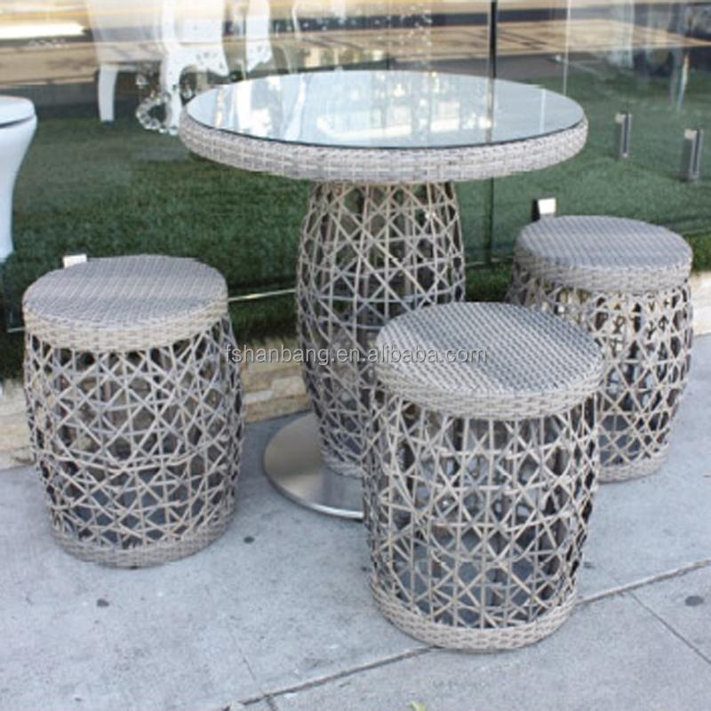 Outdoor Bamboo Counter Tiki Bar Table Chair Stool Set Buy Bamboo