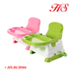 Multi-function hot selling plastic baby dining high chair baby sitting chair baby feeding chair