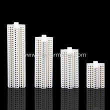 Plastic miniature scale architectural building model