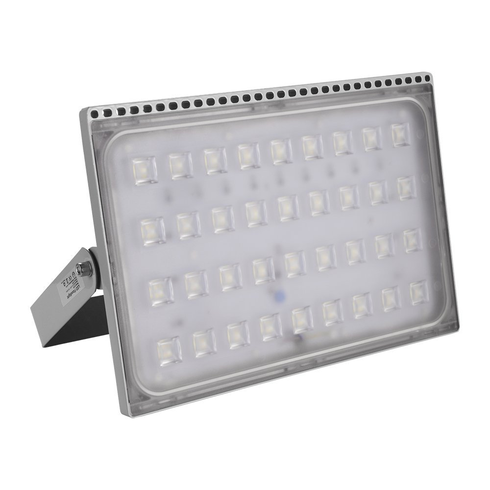 [150W 200W 300W 500W LED Floodlight Warm Light / Cold Light] Luerme LED Flood Light Outdoor Security Light Waterproof IP65 Ultra-thin Lamp for Residential/Commercial Use (200W Warm White)