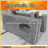 prefab spray white granite countertops ,vanity top