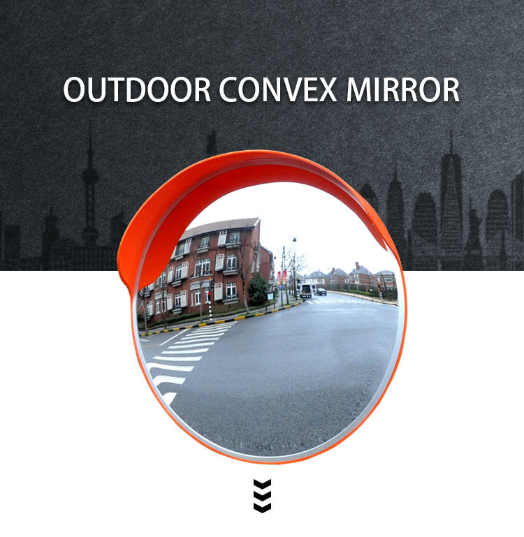 Unbreakable High Quality Rear View Mirror Convex For Motorcycle