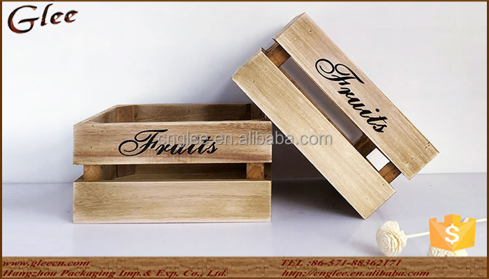 Wholesale Wooden Crate