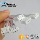 10cm long 3 Pin Wire Harness, 2mm / 2.0mm / 2.00mm Flat Cable Wire Connection With Terminals RoHS certified JST PHR-3