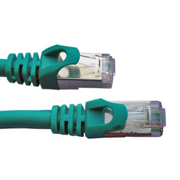 Patch Cord; F/utp; 5e; Stranded; Cca; Pvc; Green; 0.5m; 26awg Outstanding Features 1 Pcs