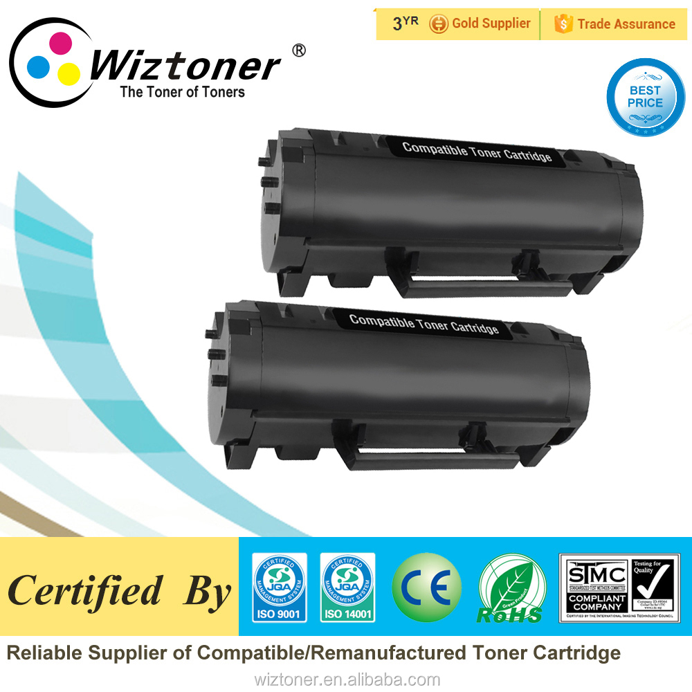 compatible toner cartridge 60F4X00 for MX510/610/MX511/MX611